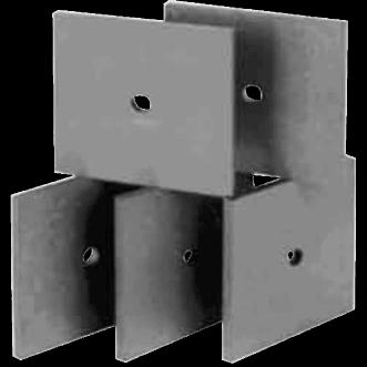 UHF Ferrit absorberende fliser