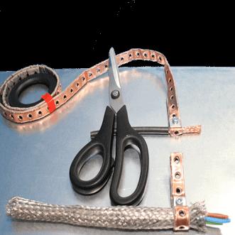 Kabeljordingsklemmer
