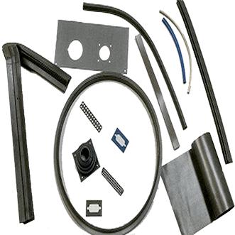 Silikoneafskærmning elastomer