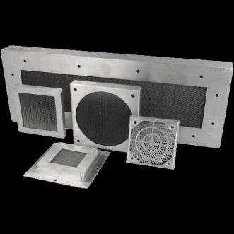 Honeycomb ventilationskanaler