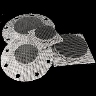 Frameless Honeycomb ventilationskanaler