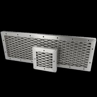 EMC vævet mesh ventilationspanel