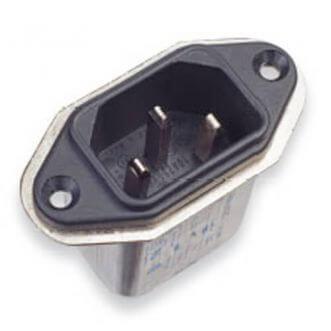 Kompakt kraftledning filter